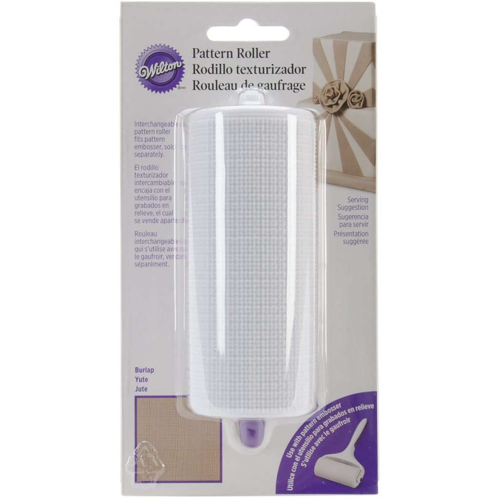 Wilton Fabric Textured Rolling Pin